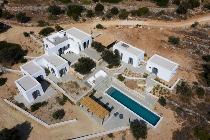 """Weaving with the Natural"" a house in Kostos, Paros, Cyclades - 1"
