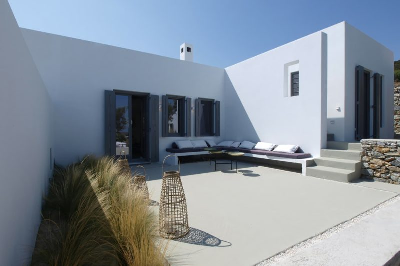"""Weaving with the Natural"" a house in Kostos, Paros, Cyclades - 10"